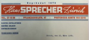 Firmenlogo 1960